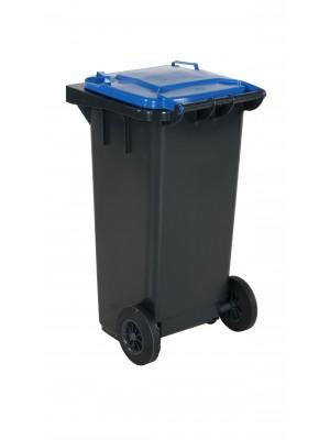 Avfallskärl 120L blått lock