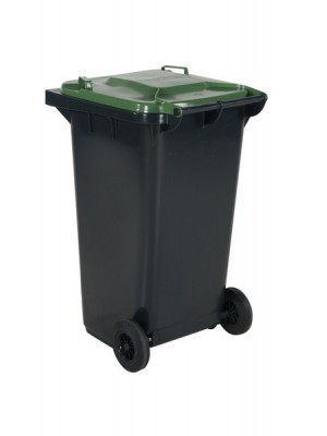 Avfallskärl 240L grönt lock