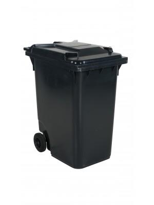 Avfallskärl 360 L, grått lock