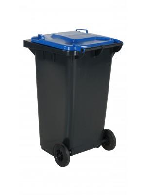 Avfallskärl 240L blått lock