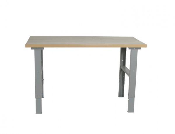 Arbetsbord m. Stålskiva 1600 mm